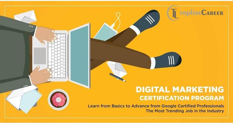 Digital Marketing Course – TopLine Career