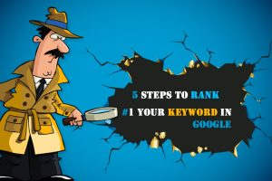 5 steps to rank your keyword